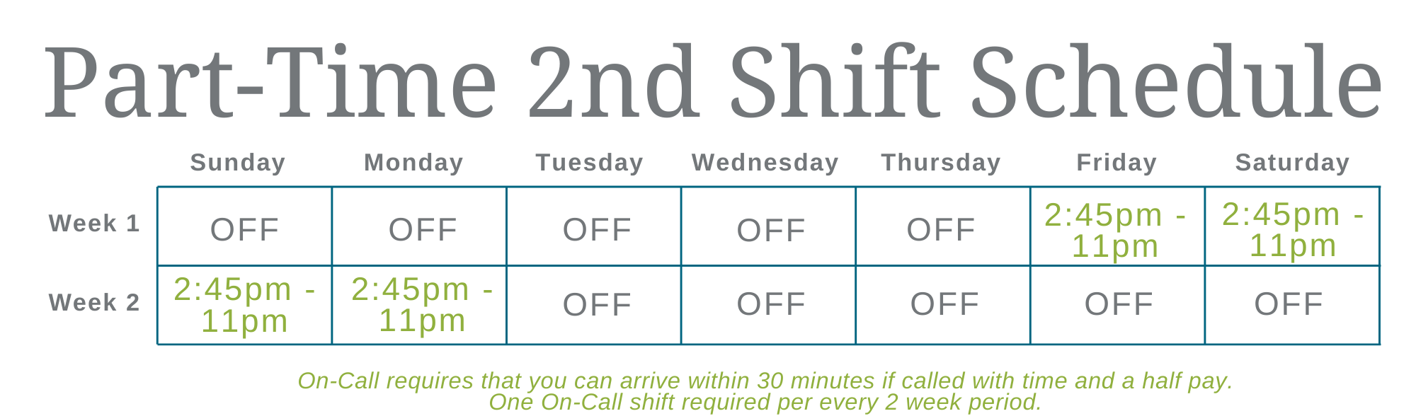Copy of Schedule 3rd Shift (12)