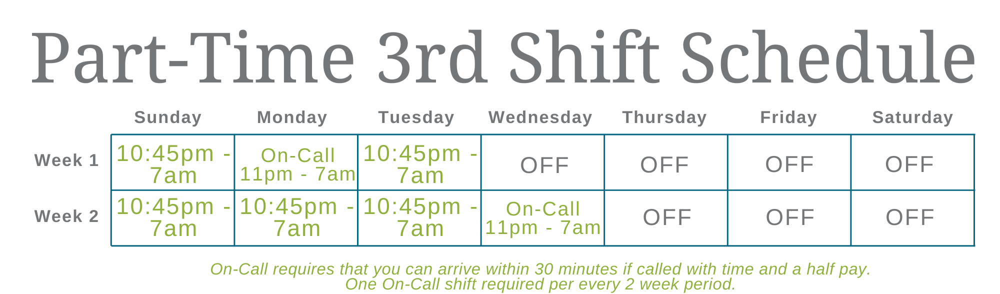 Copy of Schedule 3rd Shift (13)